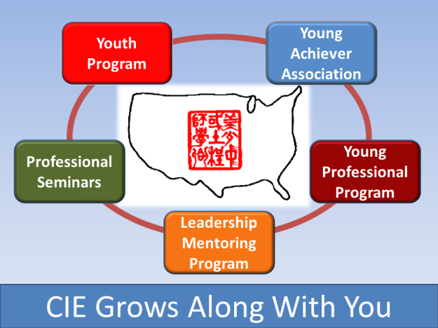 CIE Grows Along With You